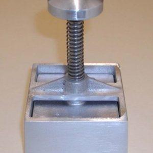Forme à hamburger carré aluminium